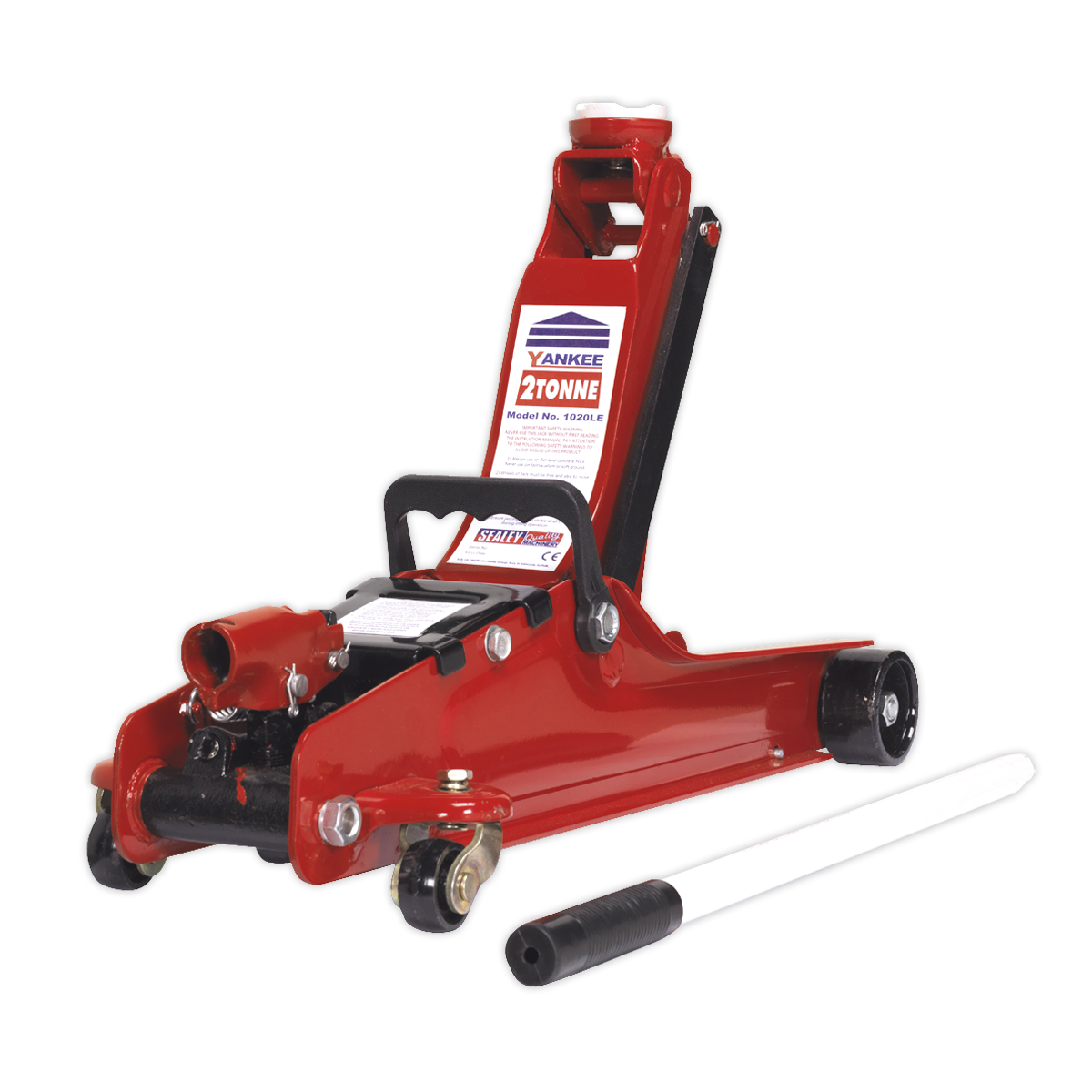 Trolley Jack 2tonne Low Entry Short Chassis