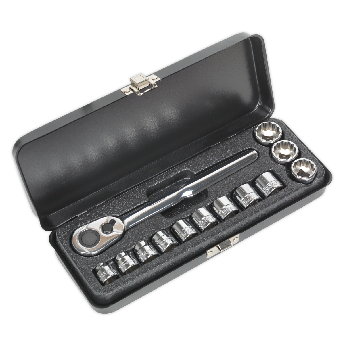 Low Profile Socket Set 13pc 3/8