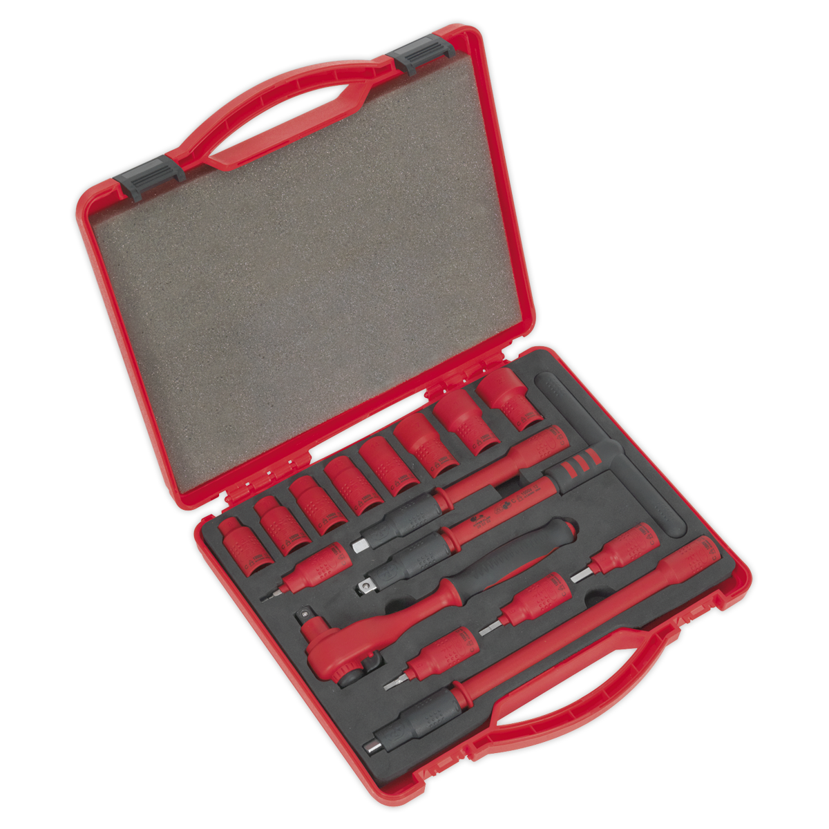 Insulated Socket Set 16pc 3/8