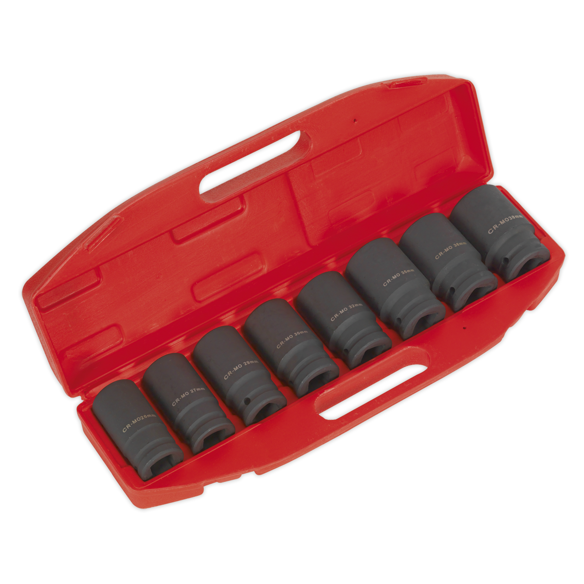 Impact Socket Set 8pc Deep 3/4