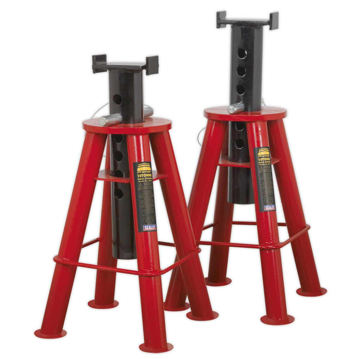 Axle Stands (Pair) 10tonne Capacity per Stand