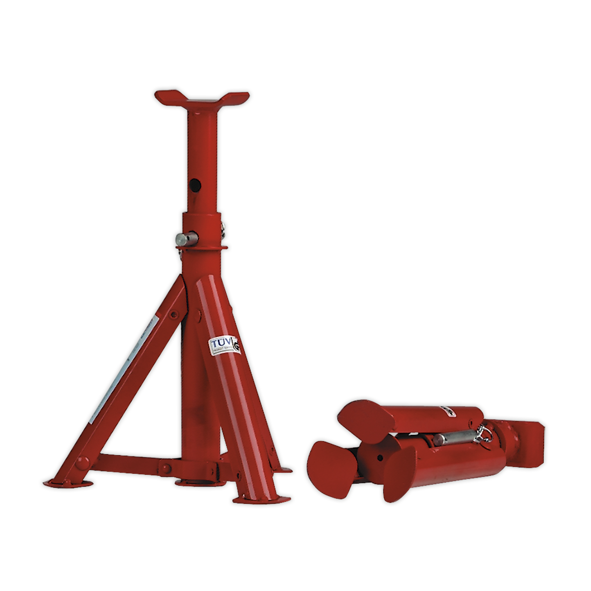 Axle Stands (Pair) 2tonne Capacity per Stand - Folding Type