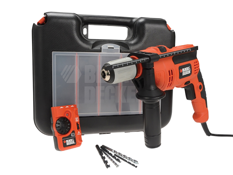 CD714EDSK Impact Hammer Drill With Free Detector 710W 240V