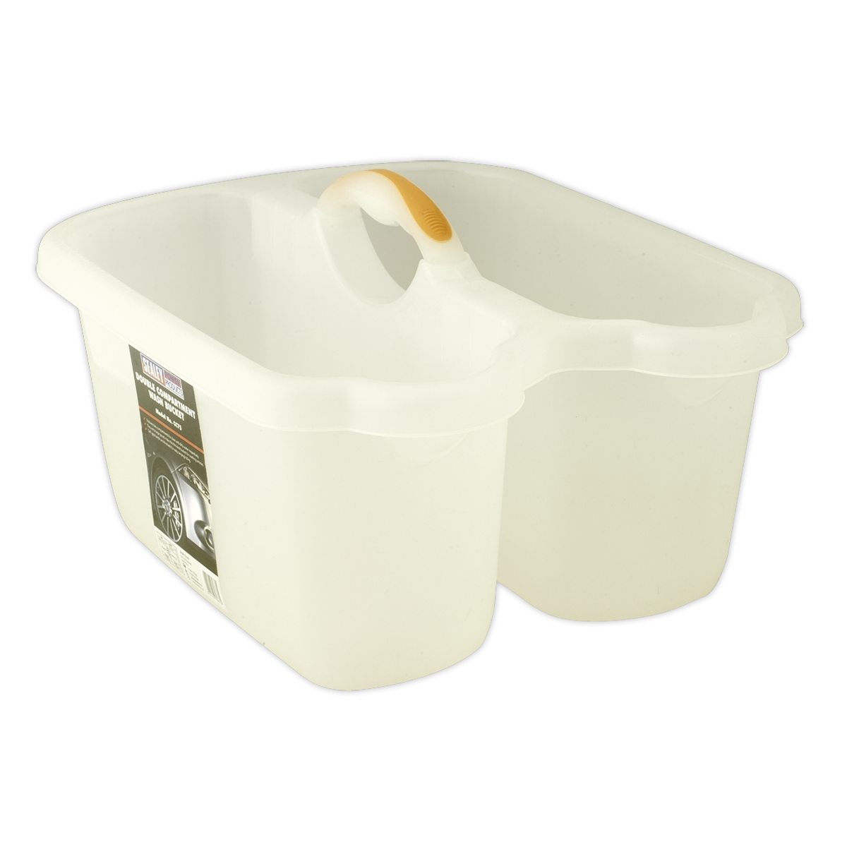 Double Compartment Wash Bucket