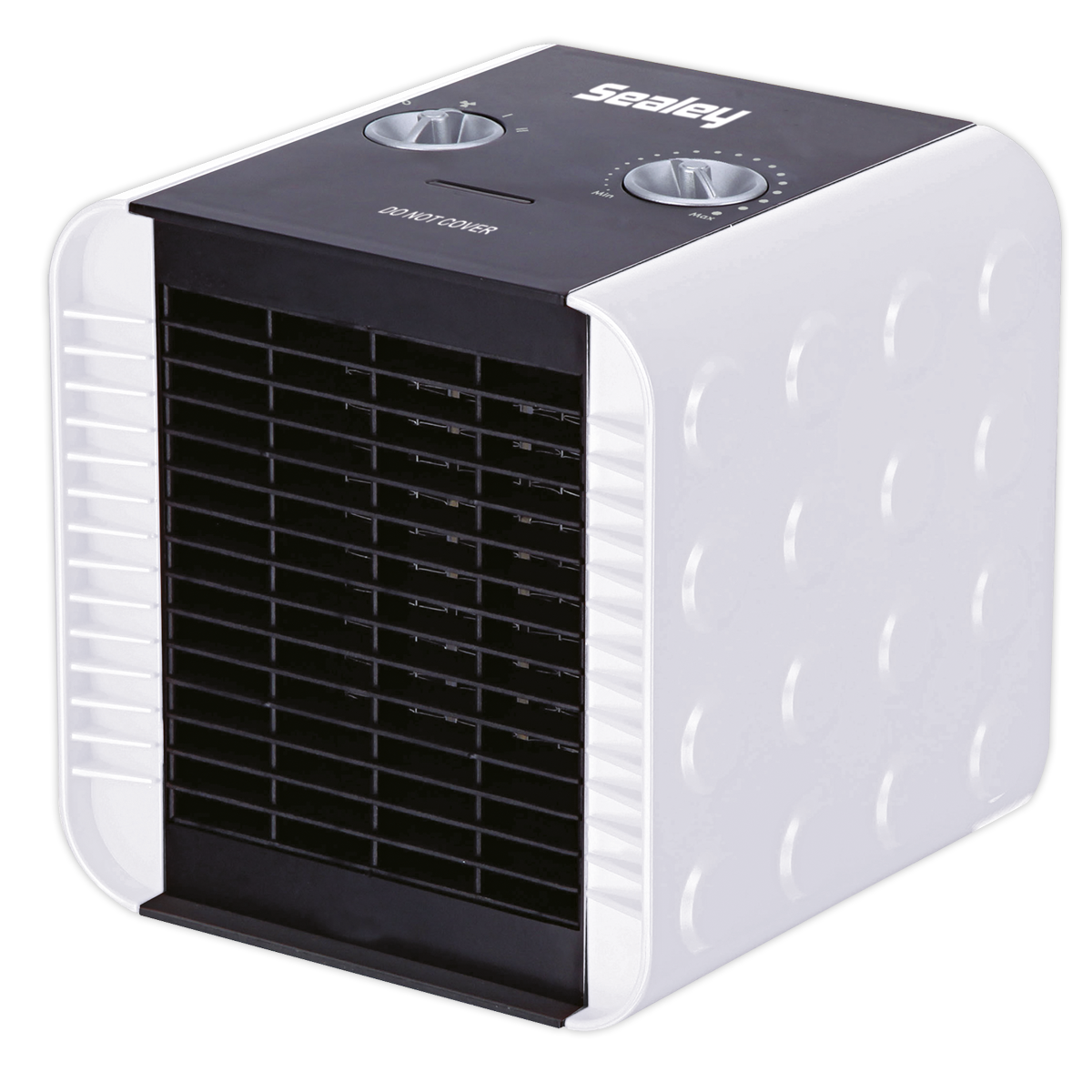 Ceramic Fan Heater 1400W/230V 2 Heat Settings
