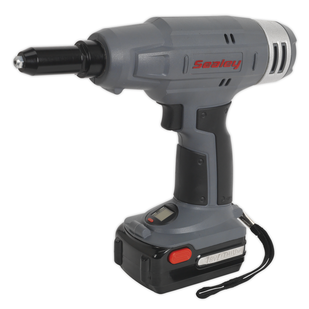 Cordless Riveter 18V 1.5Ah Lithium-ion 1hr Charger