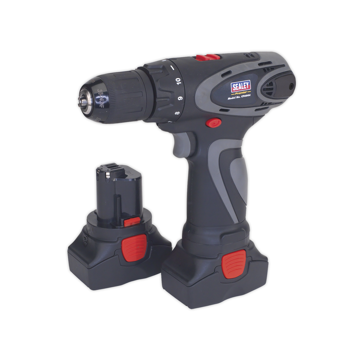Cordless Drill/Driver ?10mm 14.4V 2Ah Lithium-ion 10mm 2-Speed Motor - 2 Batteries 40min Charger