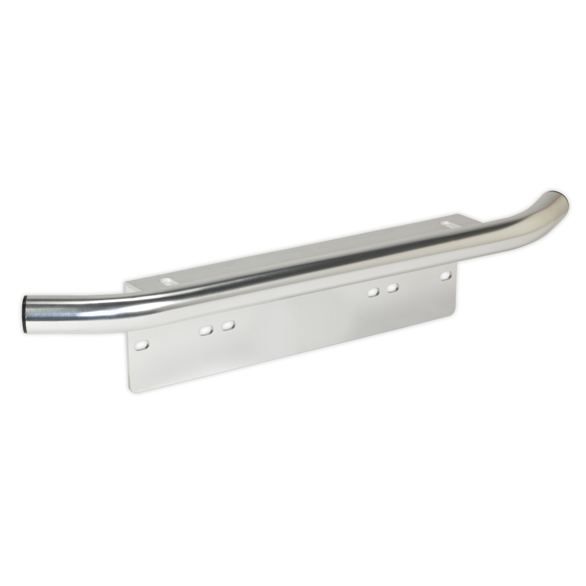 Driving Light Mounting Bracket with Bar - Universal Number Plate Fitment