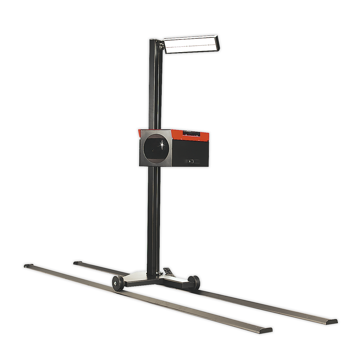 Headlamp Beam Setter with Rails & Commercial Aiming Screen