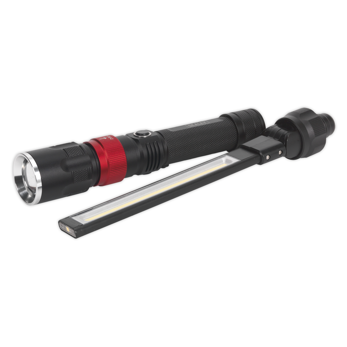 Interchangeable COB LED Inspection Lamp & Torch 3 x AAA