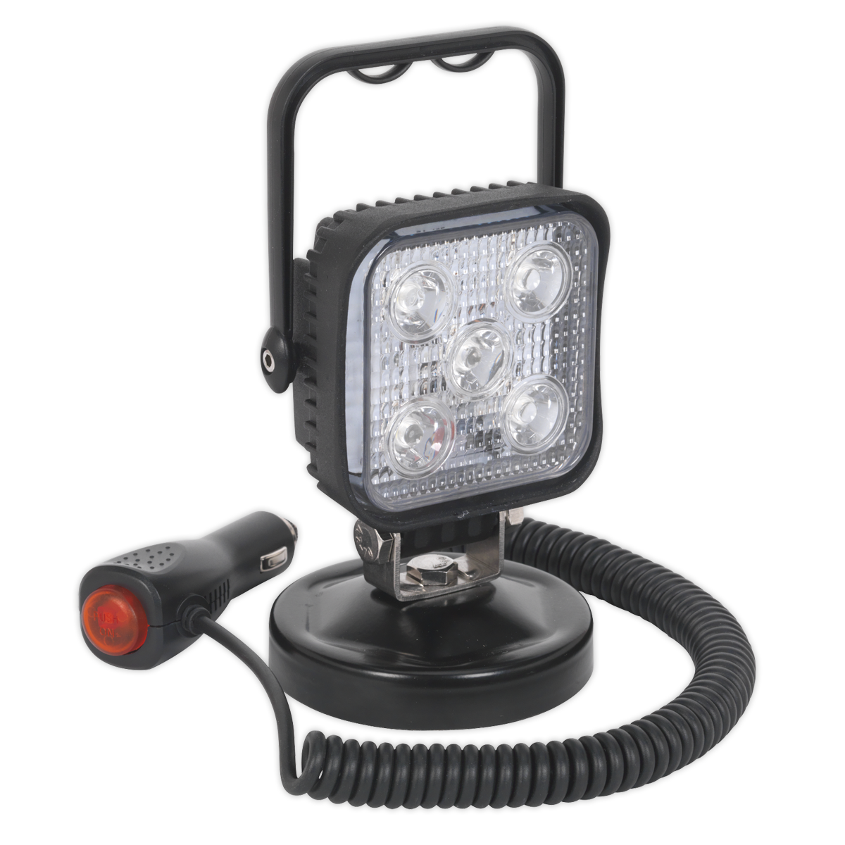 Portable Floodlight 15W LED 12V with Magnetic Base