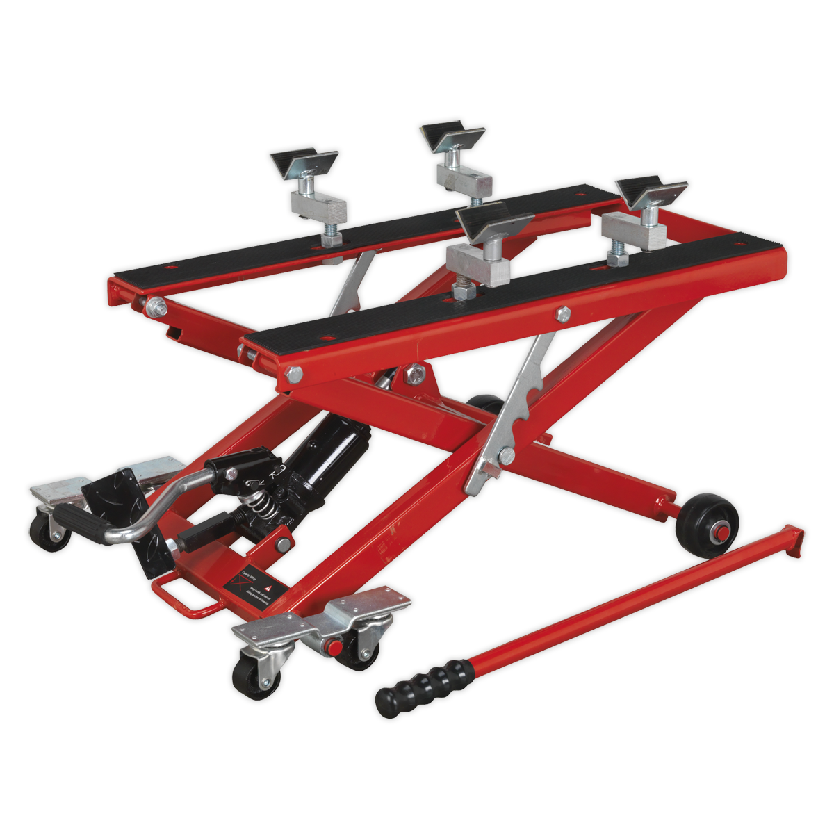 Motorcycle & Quad Scissor Lift 500kg Capacity Hydraulic