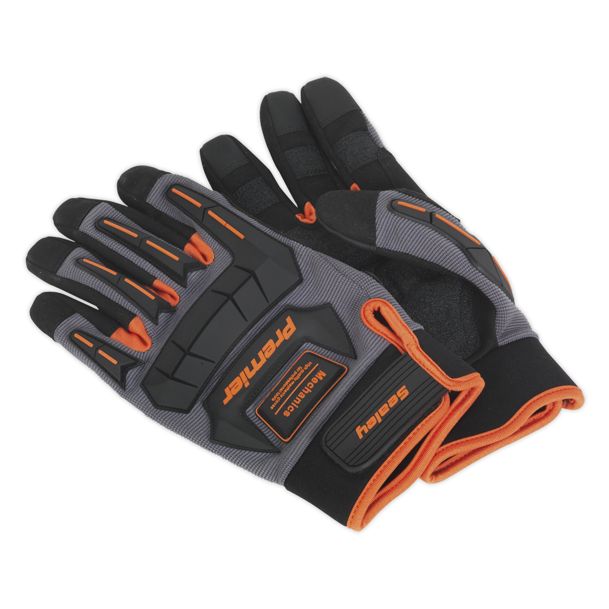 Mechanic's Gloves Anti-Collision - Extra Large