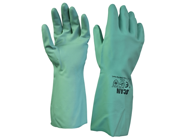 13in Nitrile Gloves - Large (Size 9)
