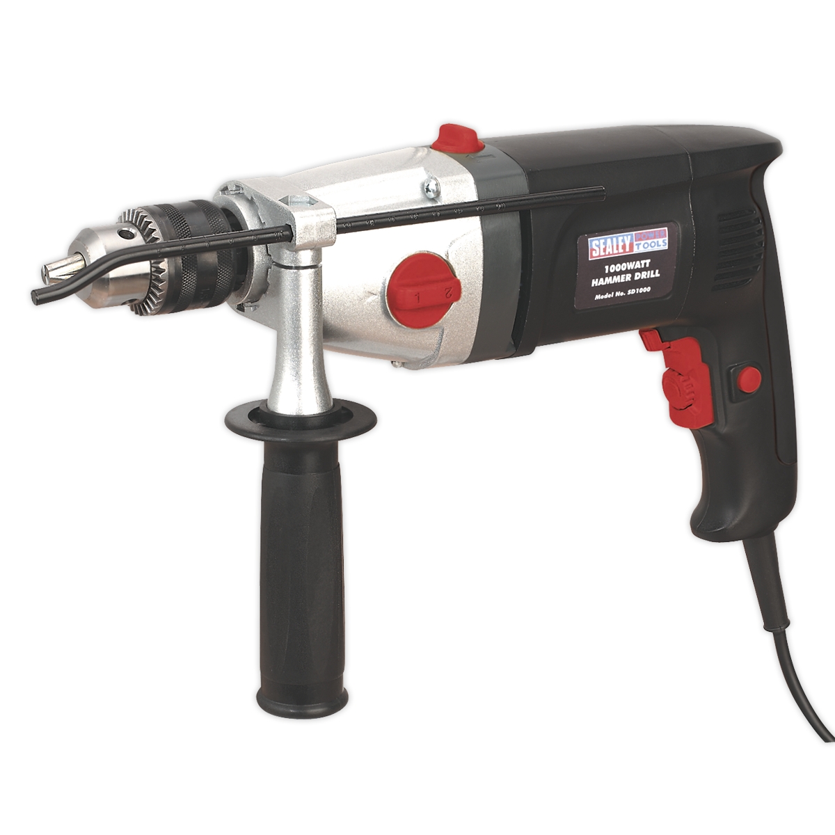 Hammer Drill 13mm 2 Mechanical/Variable Speed 1050W/230V