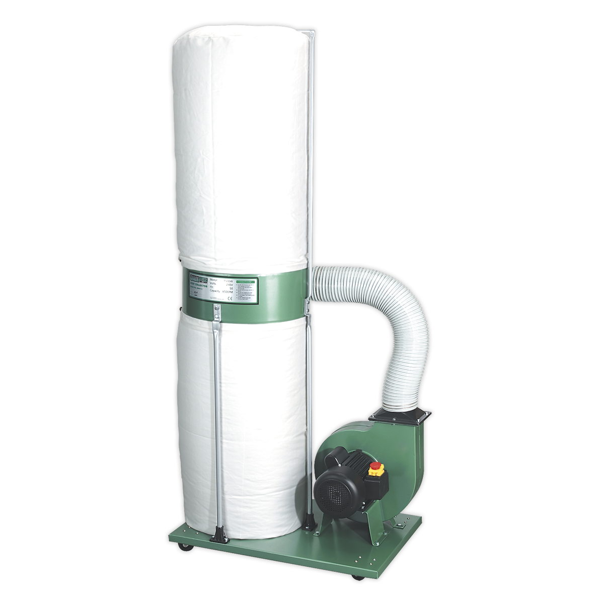 Dust & Chip Extractor 2hp 230V
