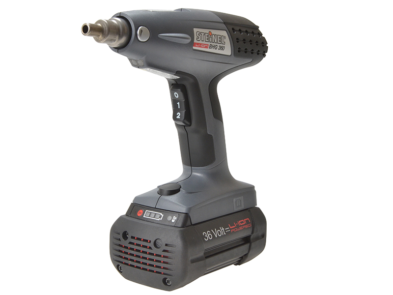BHG 360 Cordless Heat Gun 36V 1 x 4.0Ah Li-ion Battery