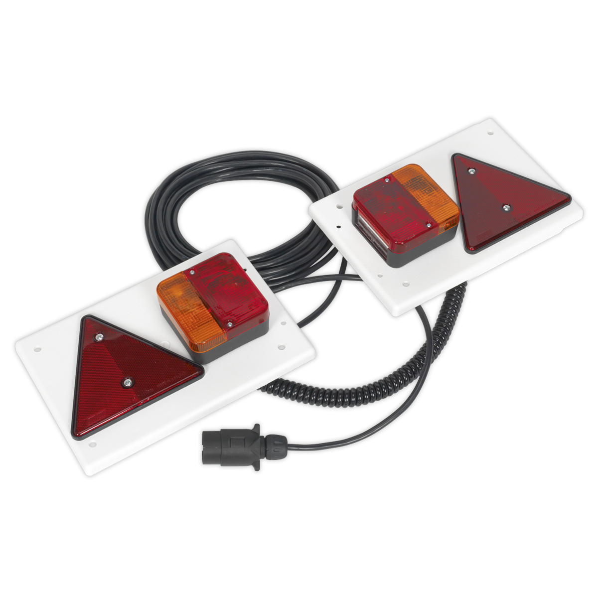 Lighting Board Set 2pc with 10mtr Cable 12V Plug