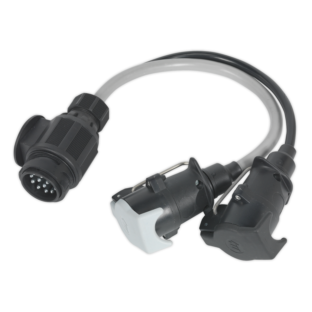 Conversion Lead 13-Pin Euro to 7-Pin N & S Type Plugs 12V