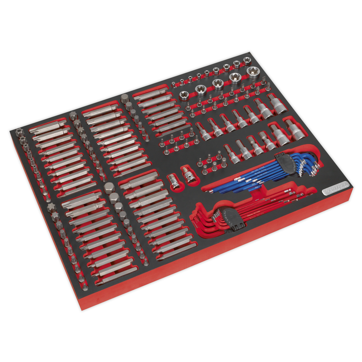 Tool Tray with Specialised Bits & Sockets 177pc