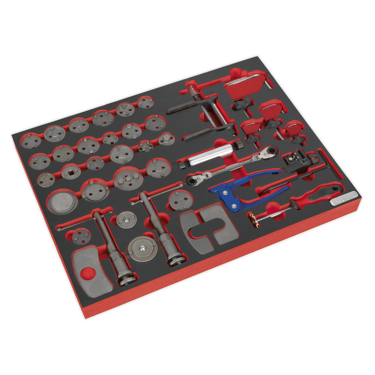 Tool Tray with Brake Service Tool Set 42pc